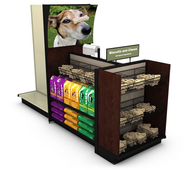 Pet Supplies End Cap