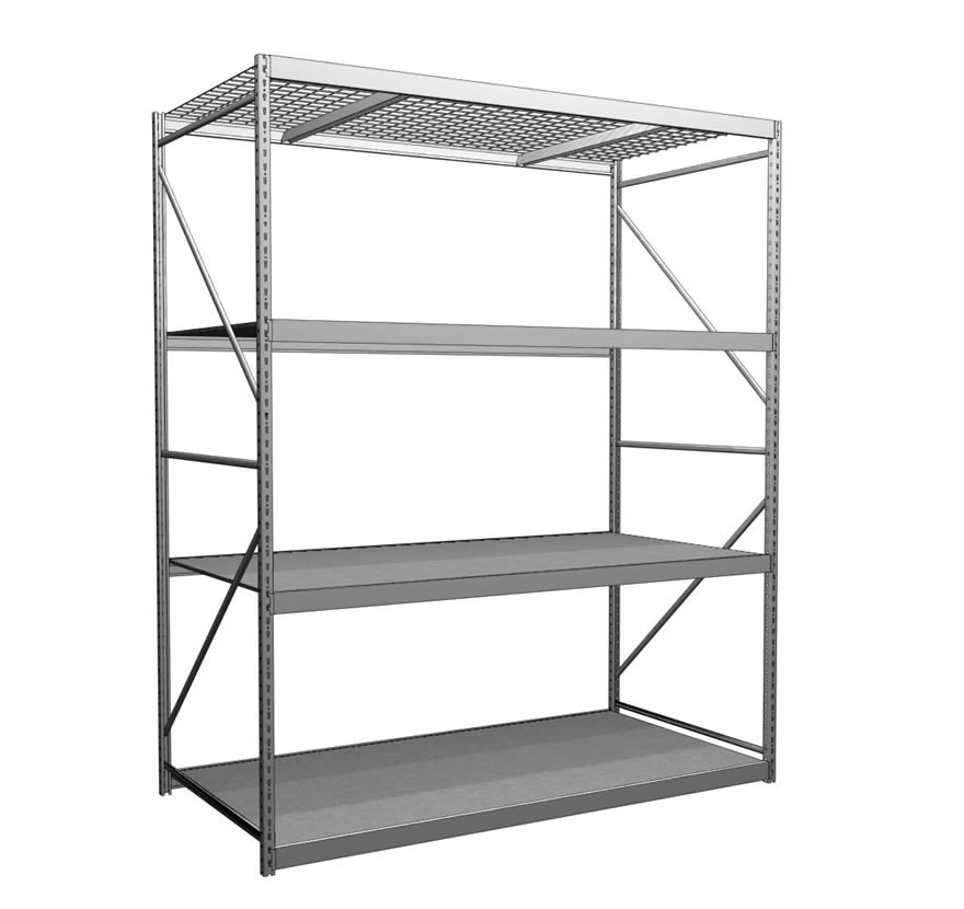 Widespan  sc 1 st  Lozier & Industrial Shelving and Storage Racks | Lozier