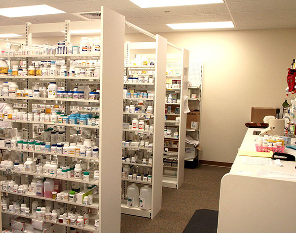 Pharmacy Shelving And Cabinets Lozier