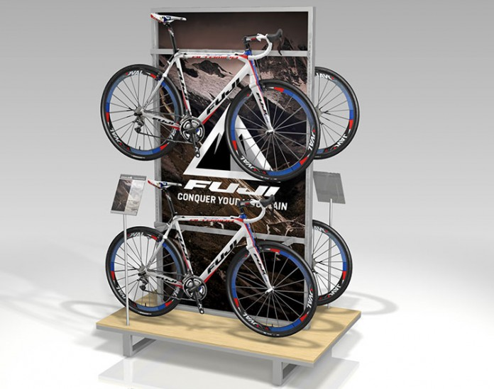 Sporting Goods Bike Display