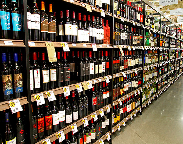 Wine And Spirits Store Shelving Lozier