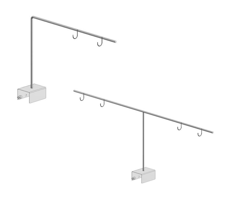 Category Aisle Sign Holder