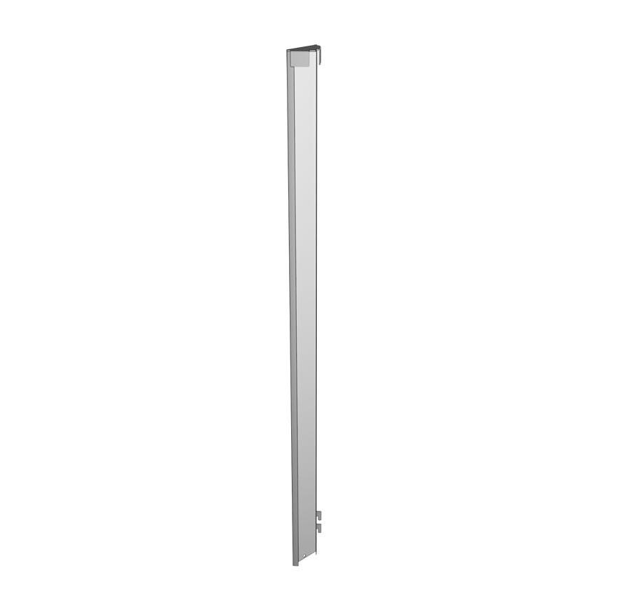 Checkout Queuing Shelving 90 Corner Filler Lozier