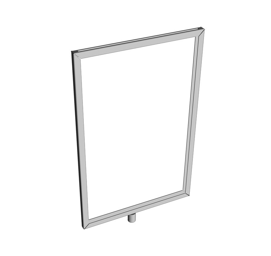 Impulse Queuing Sign Holder Frame