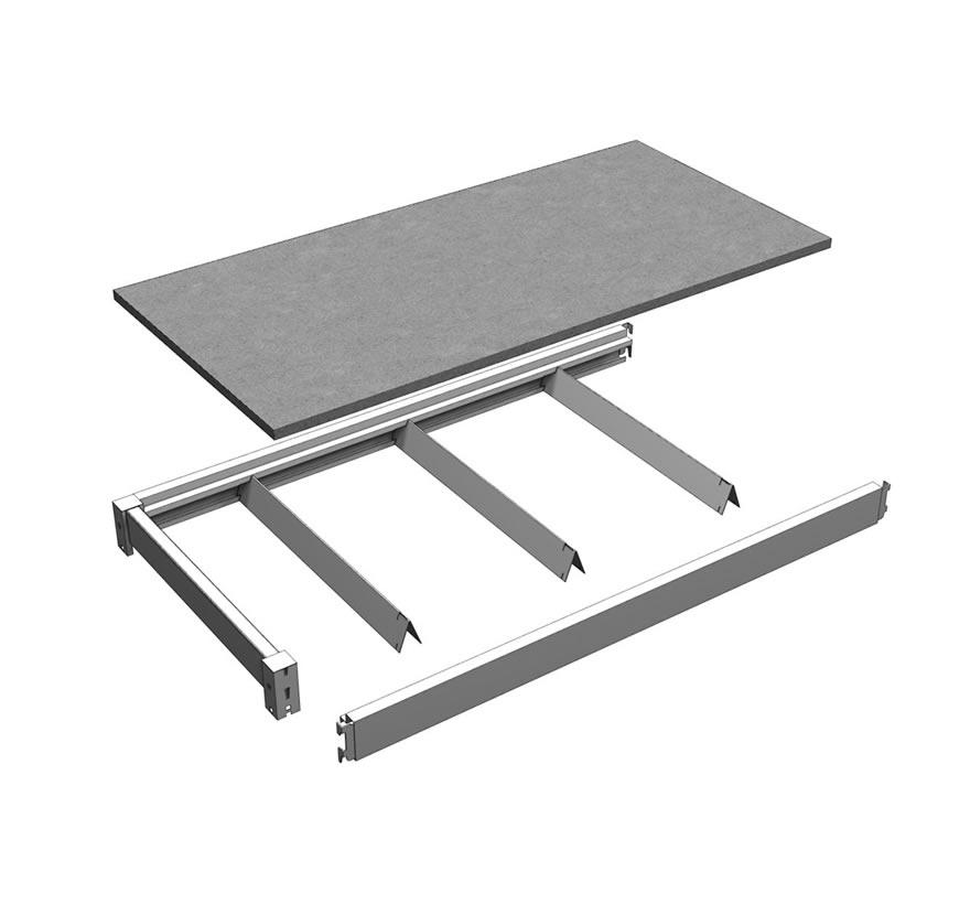 Bulk Merchandiser Deck Assembly