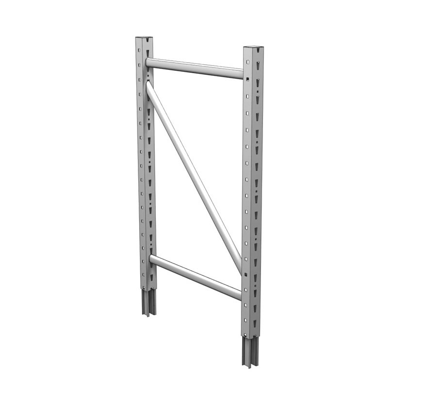 Freestanding Retail Shelving Bulk Merchandiser Extension Uprite Lozier