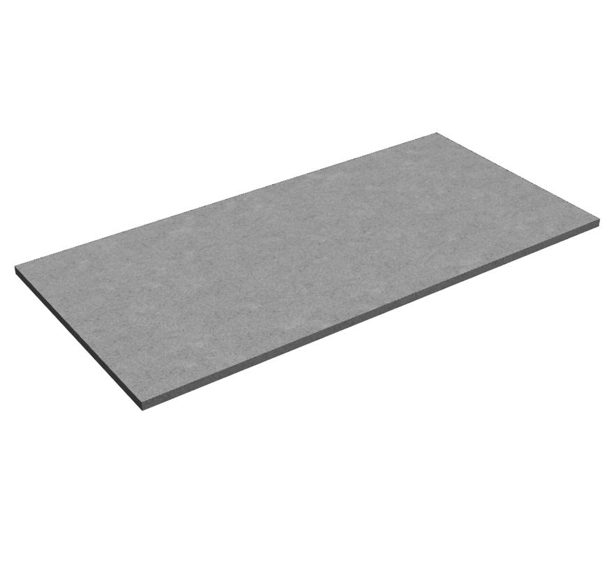 Freestanding Retail Shelving Bulk Merchandiser Particleboard Shelf Deck Lozier