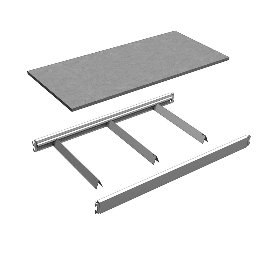 Bulk Merchandiser Shelf Assembly