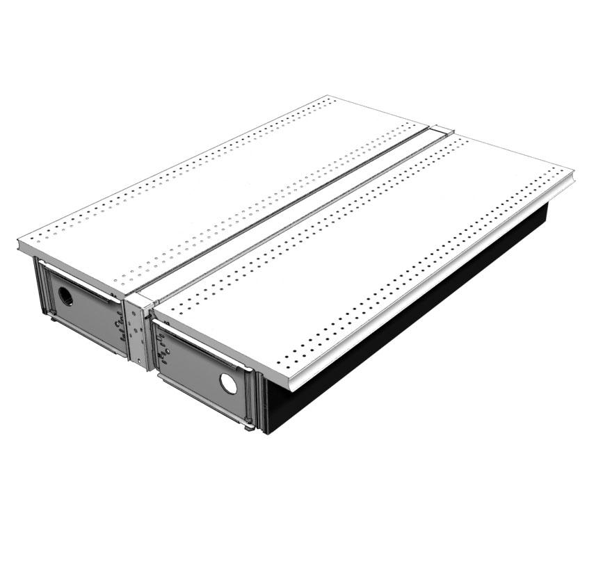 Steel Display Deck