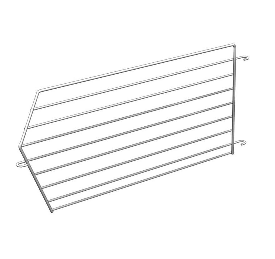 Freestanding Retail Shelving Stacking Wire Baskets Divider Lozier