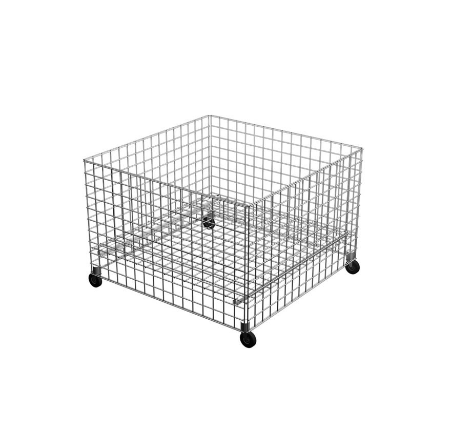 Wire Grid Dump Table