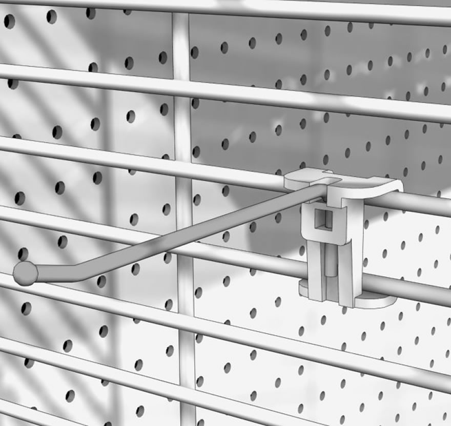 Gondola End Caps Wire Panel Hooks Gallery1 Lozier