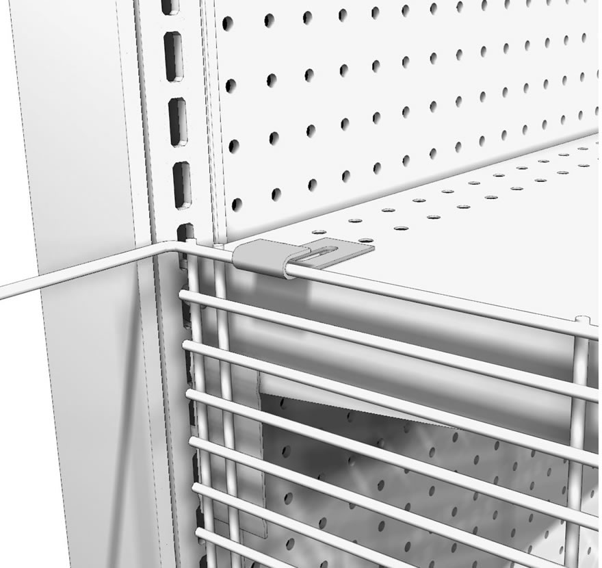 Wire Wing Panels - Lozier