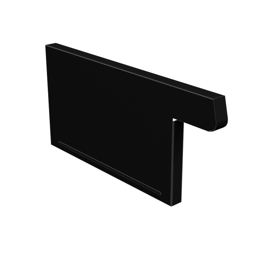 Base End Trim Lozier Gondola Shelving