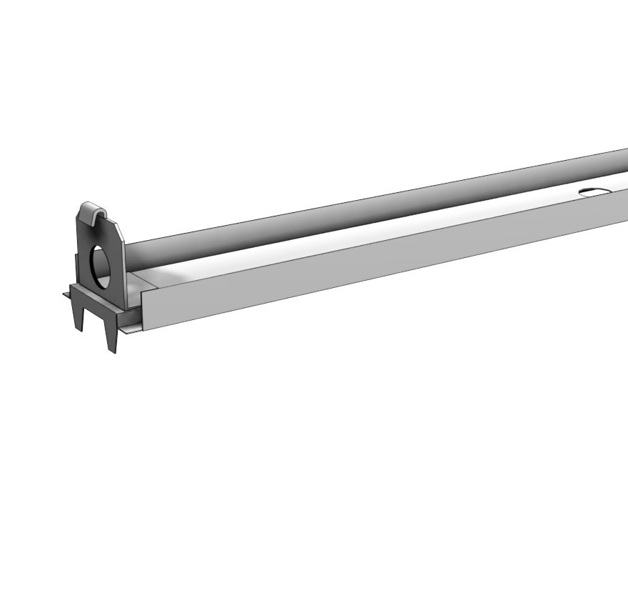 Heavy Duty Bottom Rail