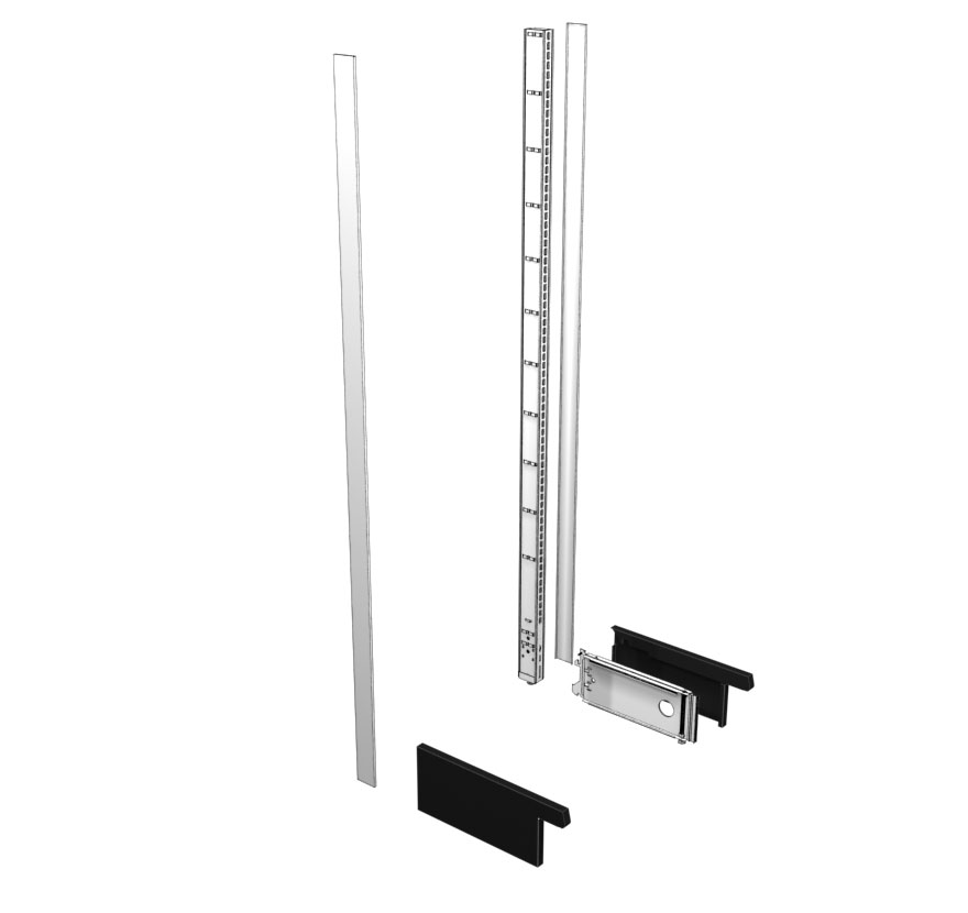 Lozier Gondola Shelving Wall End