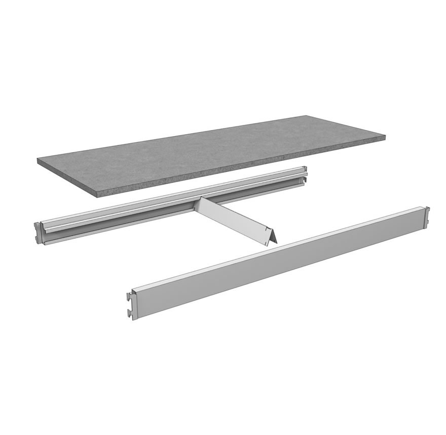 Cube Saver® Beam Shelf Assembly