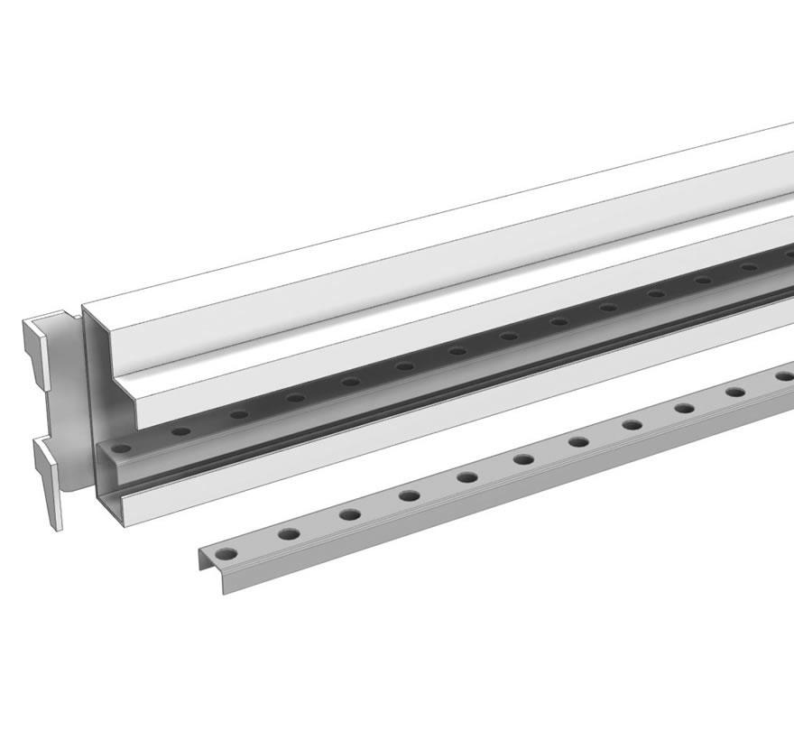 Industrial Shelving Gravity Flow Track Retainer Gallery1 Lozier
