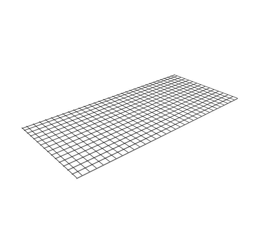 Widespan Wire Grid Shelf