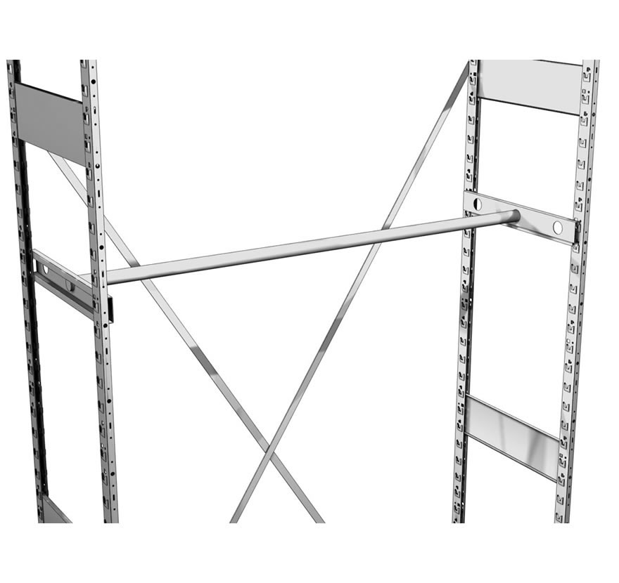 Industrial Shelving S Series Hang Rod Unit Gallery1 Lozier