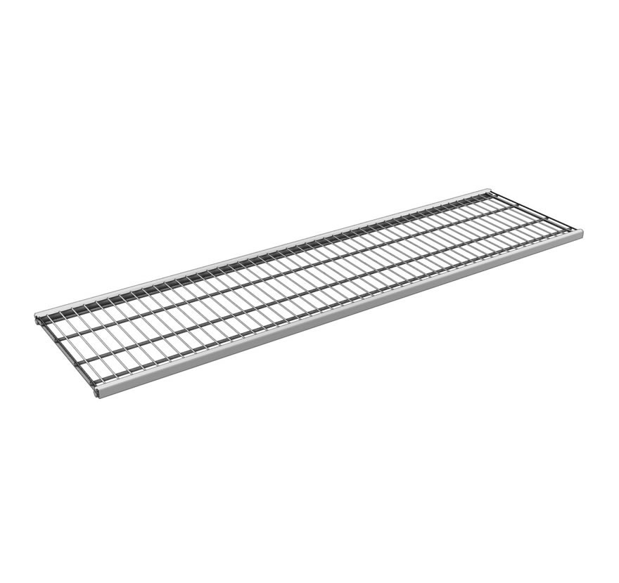 Industrial Shelving S-Series Shelves Wiregrid Gallery1 Lozier