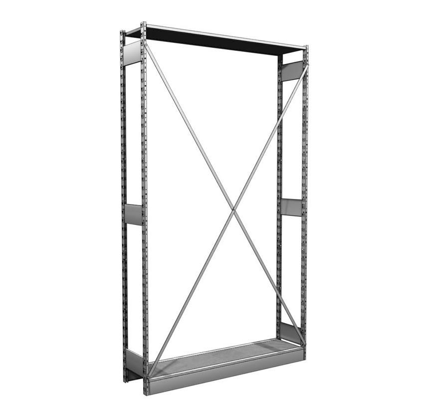 Industrial Shelving S-Series Storage Shelving Crossbrace Gallery1 Lozier