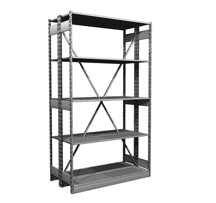 Industrial Shelving S-Series Storage Shelving Lozier