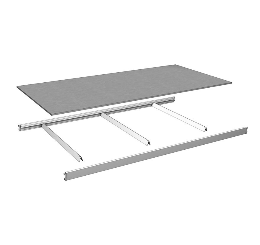 Industrial Shelving Wide Span Shelf Assembly Lozier