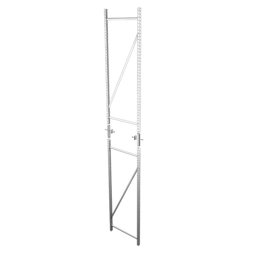 Industrial Shelving Widespan Two Piece Uprite Lozier