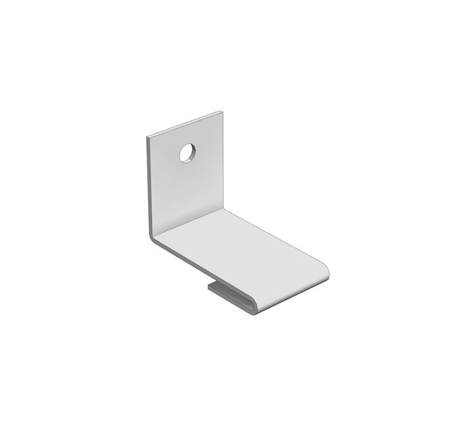 Pharmacy Shelving Flex Rx Wall Mounting Clip Lozier