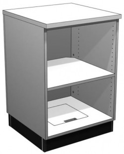 Retail Display Cases Bay Option A Lozier