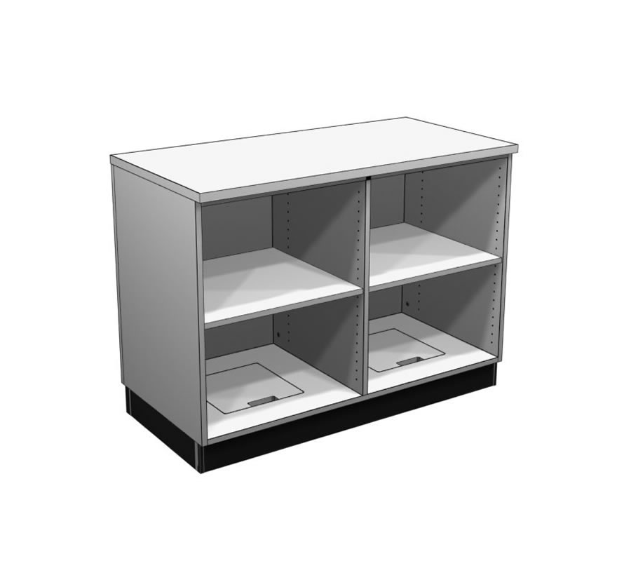 Retail Display Cases Straight Counter Gallery1 Lozier