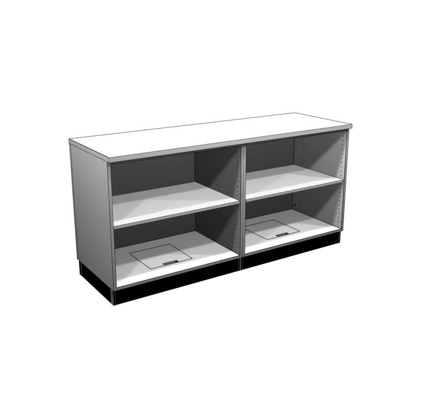 Retail Display Cases Straight Counter Gallery3 Lozier