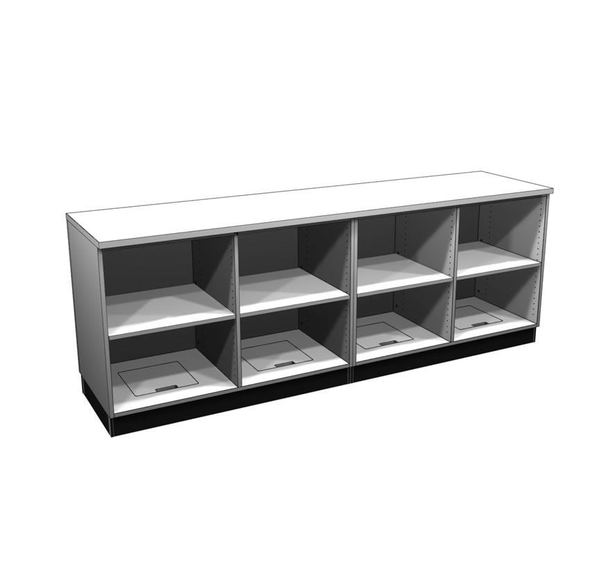 Retail Display Cases Straight Counter Lozier