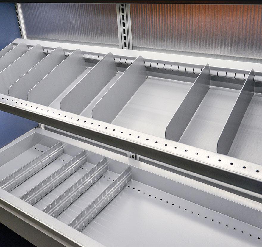 Retail Shelving Accessories Bin Deck Gallery Lozer