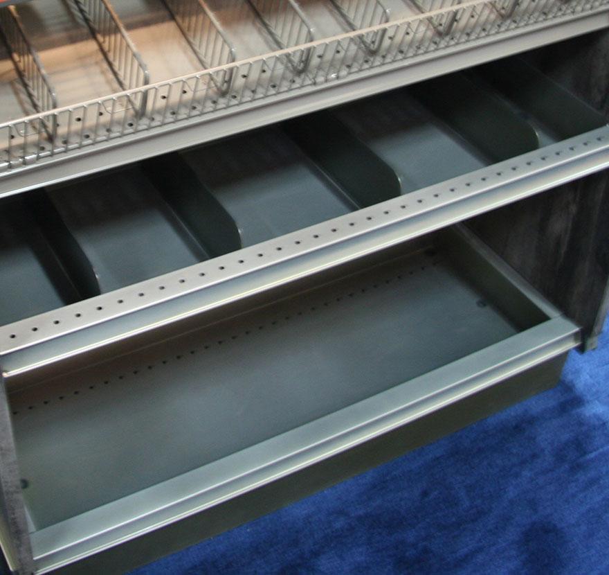 Retail Shelving Accessories Bin Deck Lozier