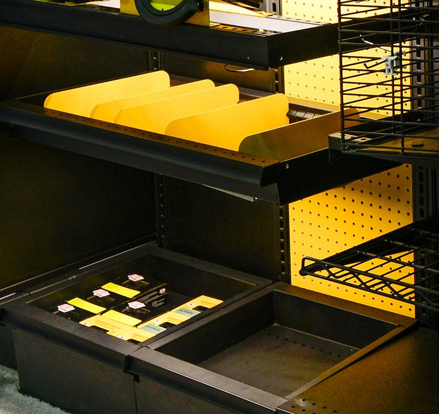 Retail Shelving Accessories Bin Shelf Gallery Lozier