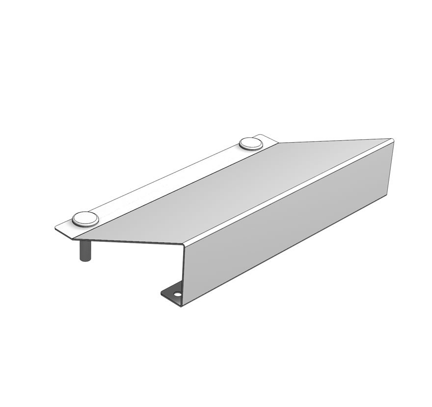 Compartment Dual Crosstube Shelf