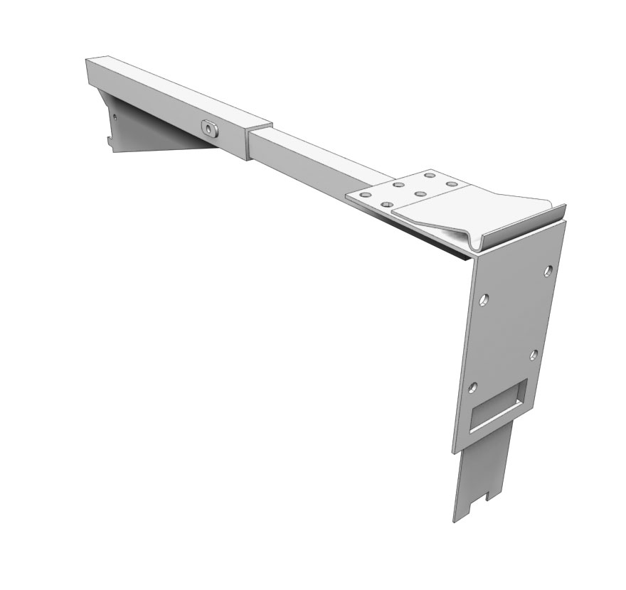 Contoured Frame Canopy Adjustable Bracket