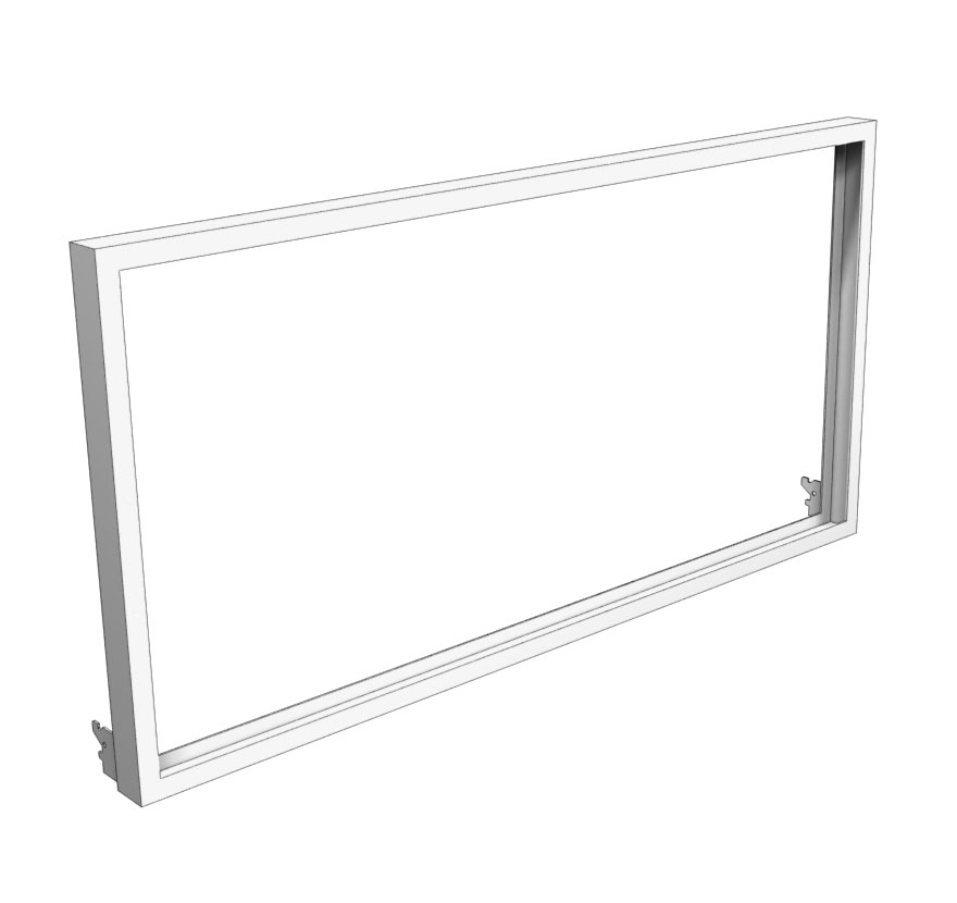 Retail Shelving Accessories Display Frame Lozier