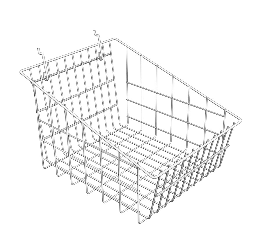 Pegboard Dump Basket