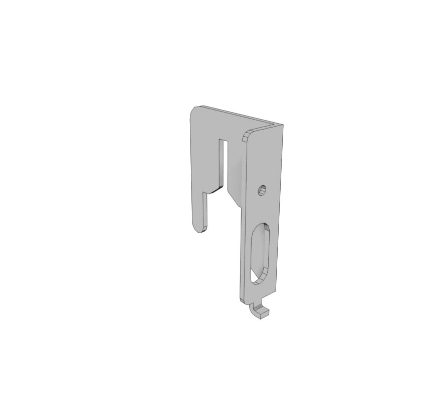 Retail Shelving Accessories Extended Pegboard Bracket Lozier