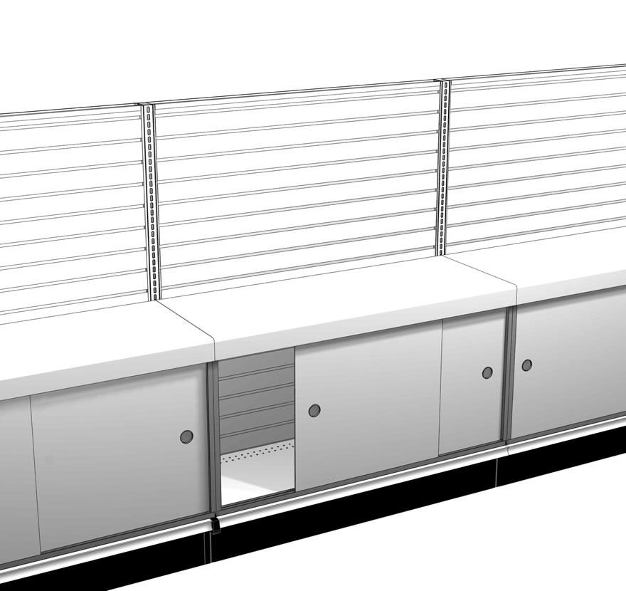 Retail Shelving Accessories Hardboard Door Kit Gallery1 Lozier