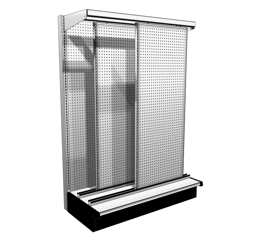 Heavy Duty Sliding Display System