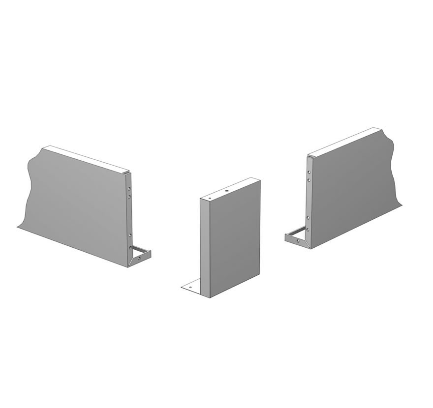 Metal Canopy Corner Adapters (Outside)