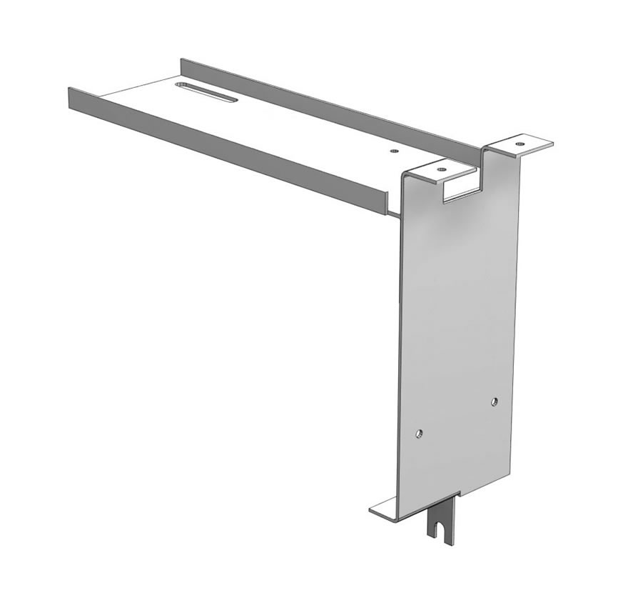 Metal Canopy Shelf-Mount Bracket