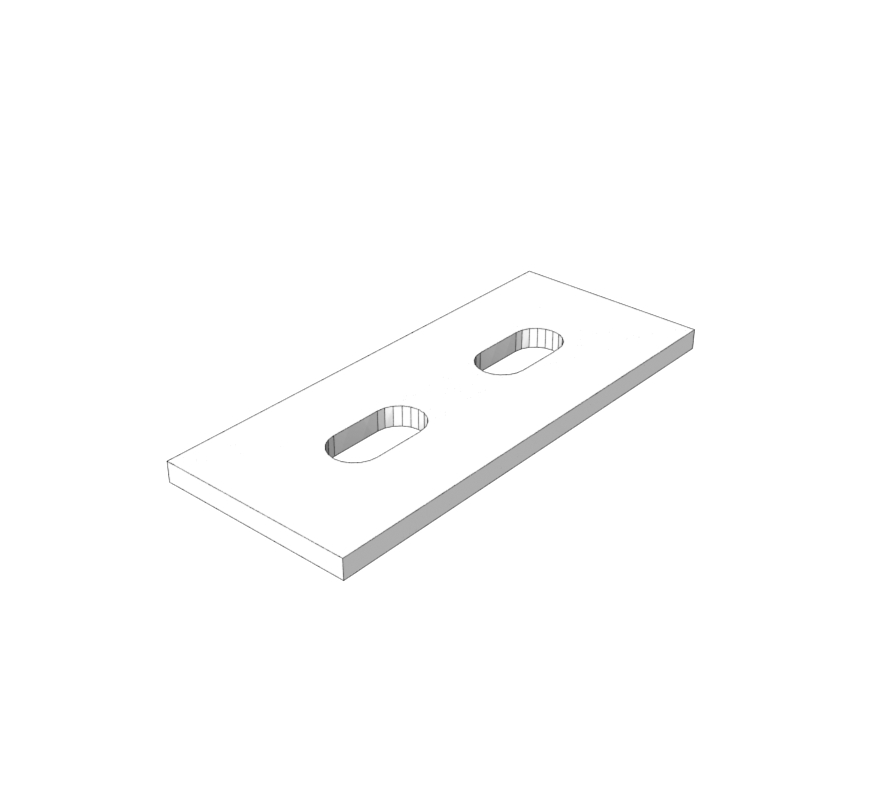 Quick Connect LED Wood Shelf Clip