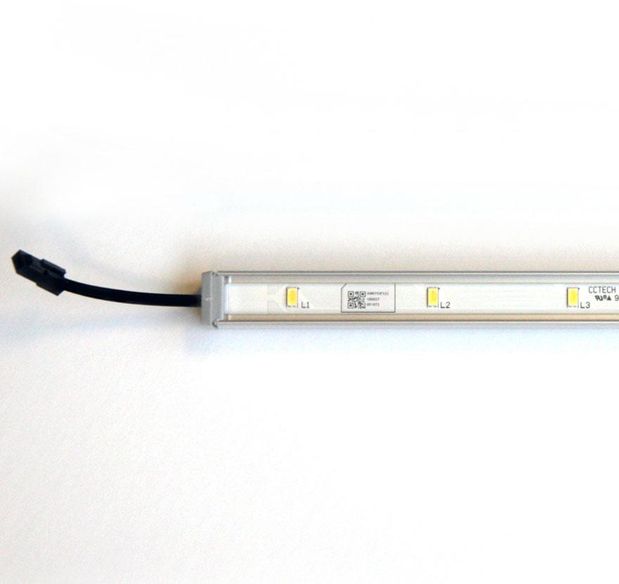 Retail Shelving Accessories Quick Connect Standard Output Light Detail Lozier