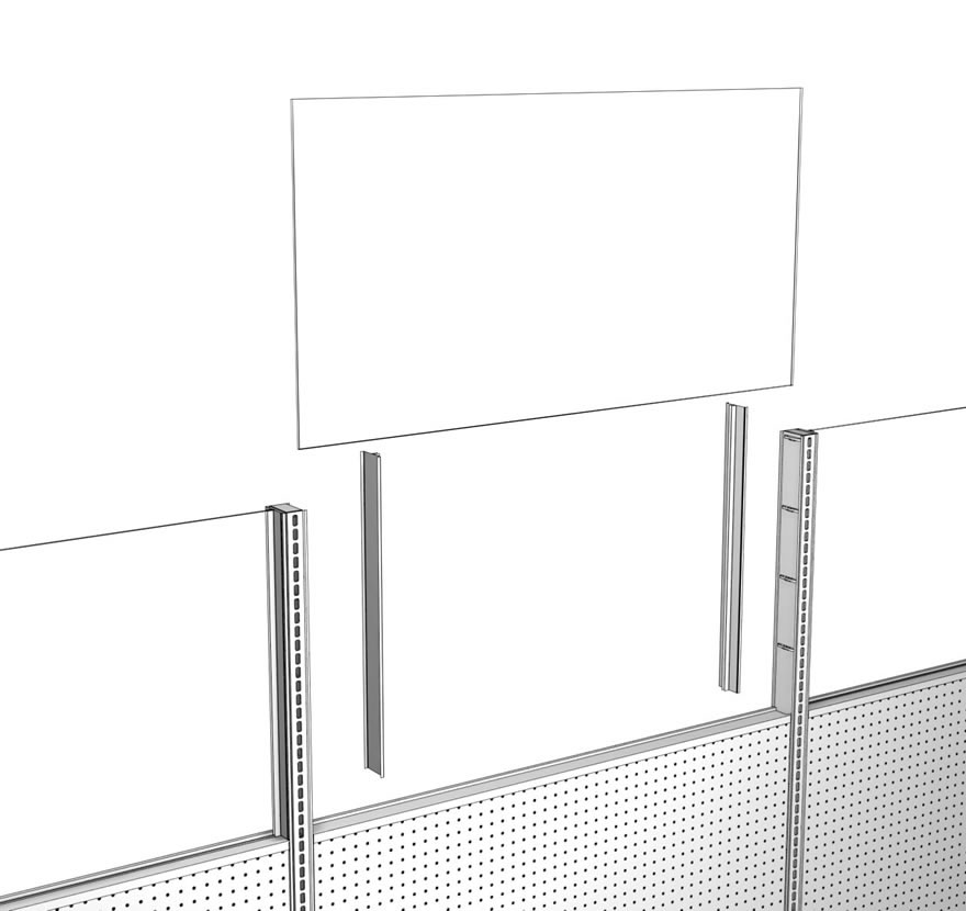 Retail Shelving Accessories Sign Channels Lozier