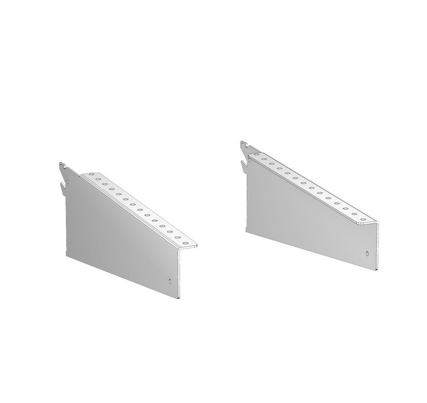 Retail Shelving Accessories Sliding Display HD Brackets Lozier